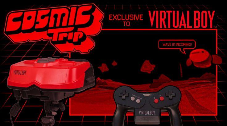Funktronic Labs Officially Announces VR RTS Cosmic Trip is Coming to Nintendo's Virtual Boy #vrshop #vrheadset #htcvive #psvr #bobovr #baofeng #mobilevr #vr360 #vrnews #virtualreality #immersive #htcive #vrbox #virtualrealityshop #vrheadsetsshop #sale #saleprice #mobilevr