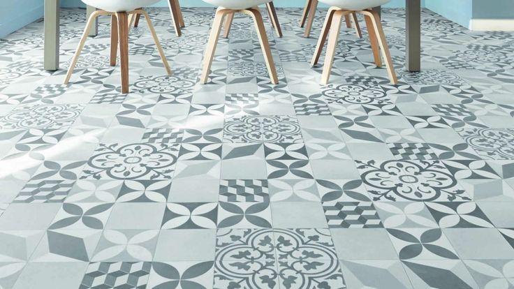Les 25 meilleures id es concernant lino parquet sur pinterest meuble micro onde ikea color for Lino carreaux de ciment