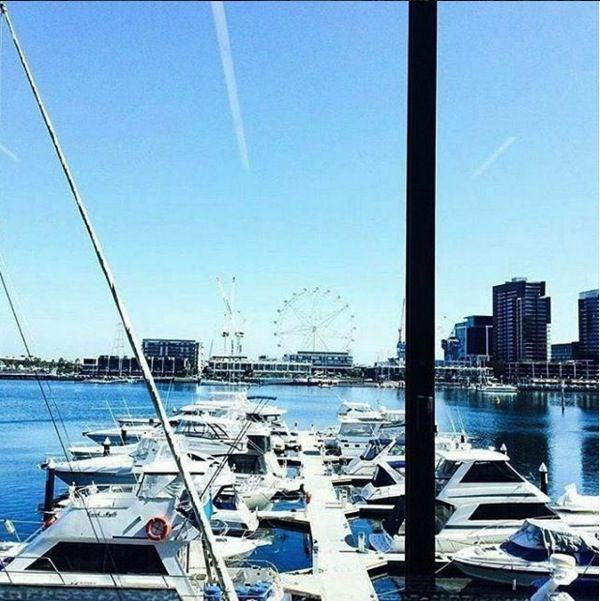 How many libraries have a view this fine? - regram @docklandsmelb & photo by @cq_jaqueline #library #amazingview #docklands #boats #melbournelife #travel #explore #discover #melbourne #seemelbourne