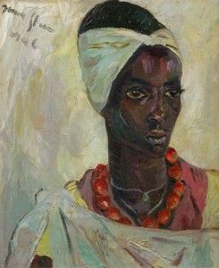 Painting by Irma Stern