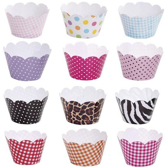 free cupcake wrapper printables | Cupcake Wrappers by Via Blossom | Catch My Party