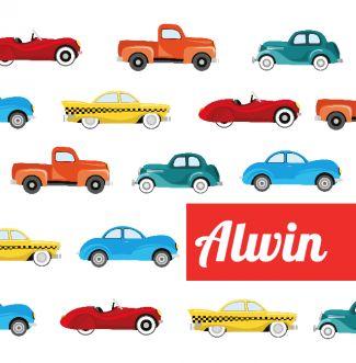 Geboortekaartje Alwin | BlijKaartje.nl