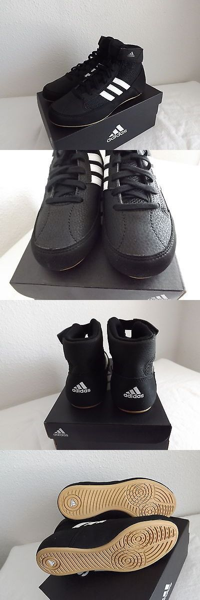 Footwear 79799: Adidas Hvc K Youth Wrestling Shoes Size 2 New~A -> BUY IT NOW ONLY: $33 on eBay!