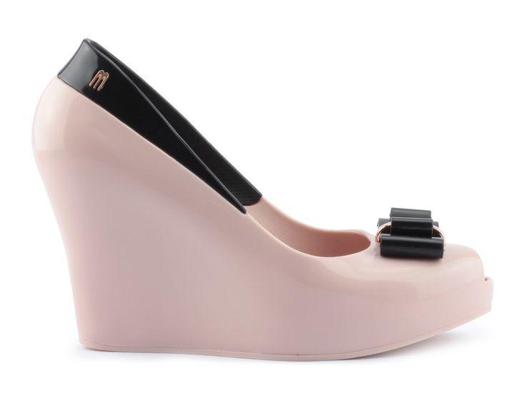 koturny melissa 31819 quenn wedge iii pink black