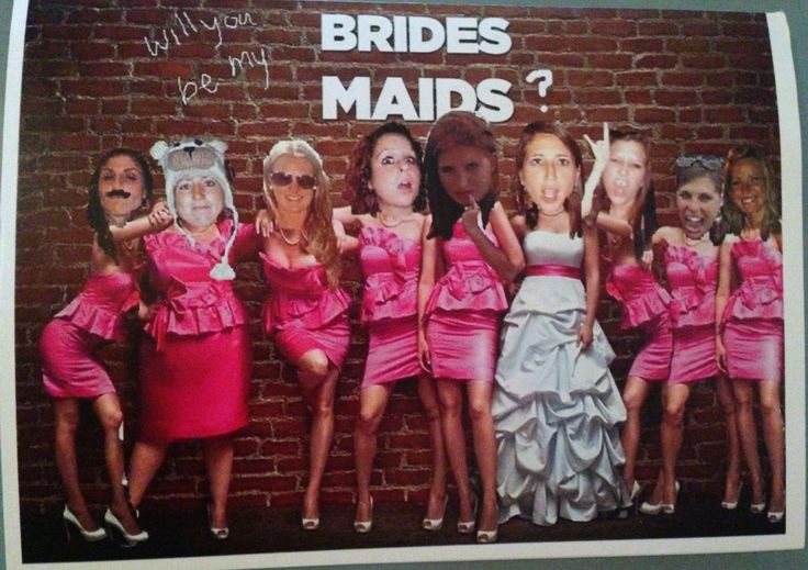 Broke and Bougie: Friday 5: Ways to Ask Your Bridesmaids