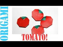 how to make a rose out of a tomato
