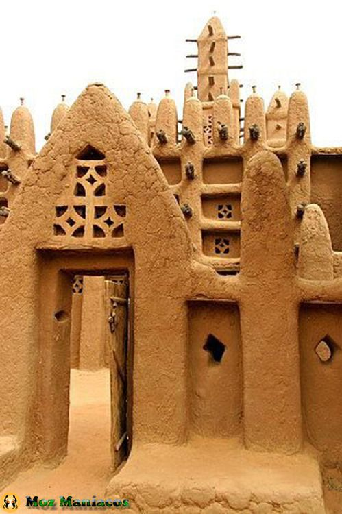 Dogon structure in Mali. Mali Listeni/ˈmɑːli/, officially the Republic of Mali (French: République du Mali, French pronunciation: ​[maˈli]), is a landlocked country in West Africa.
