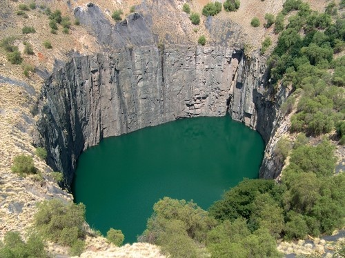 Big Hole of Kimberley in the Northern Cape, South Africa