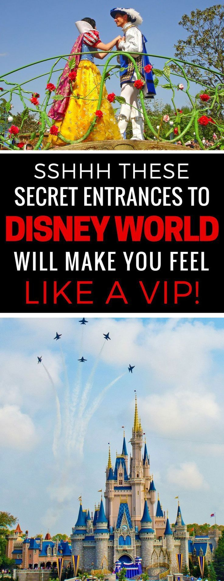 Who knew! I'm printing this list out because these secret entrances are going to save us a ton of time on our Disney vacation! Thanks for sharing! #vacationflorida