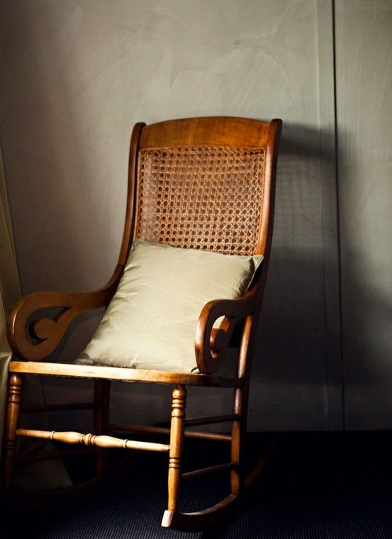 comfy old chair