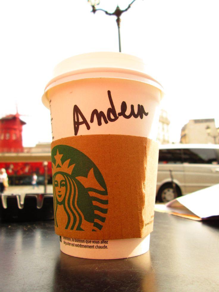 Starbucks: Andrew, i said ANDREW!