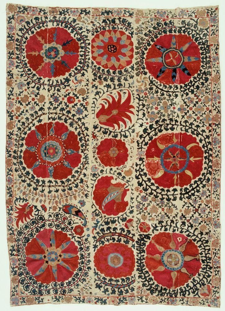 Central Asian Susani. @designerwallace