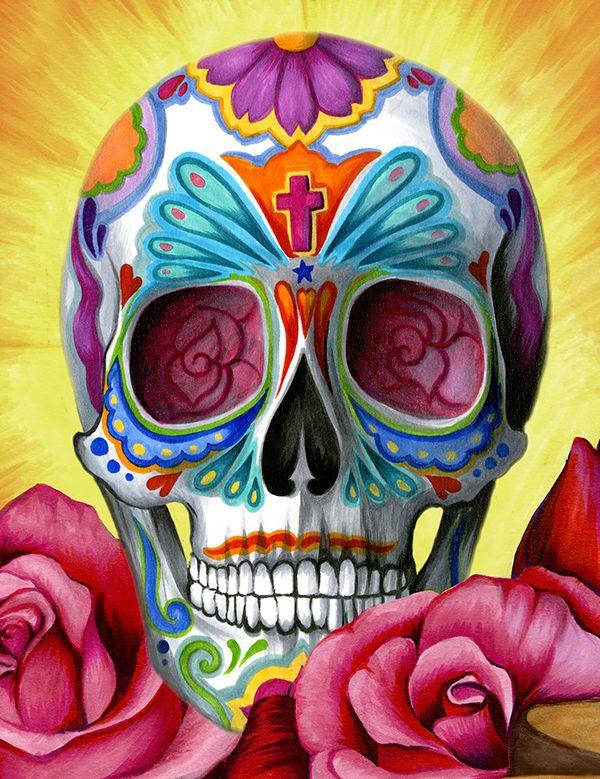 Skulls: Sugar #skull.