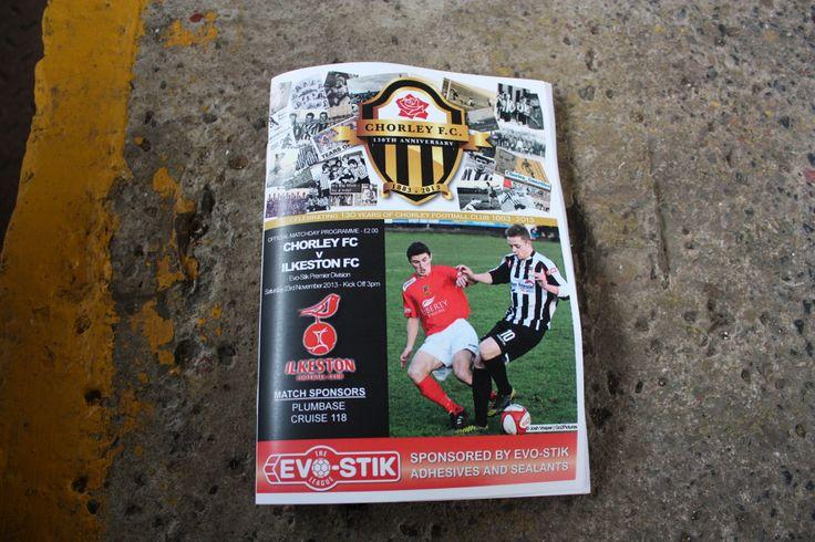 Chorley FC Ilkston FC