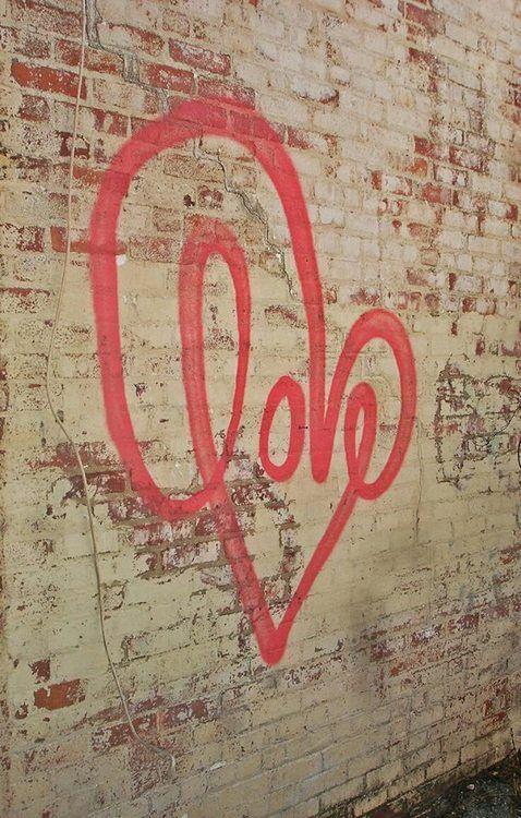 Love graffiti.