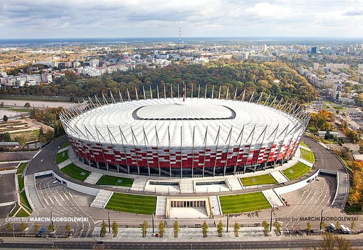 International Stadium (Warszawa, Poland) By GMP Architekten