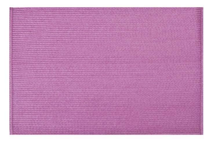 Prostírání stolu růžové barvy ve tvaru obdélníku
