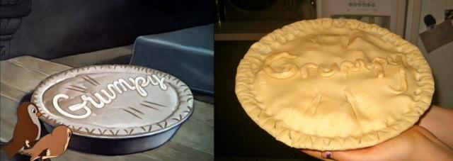 snow white pie