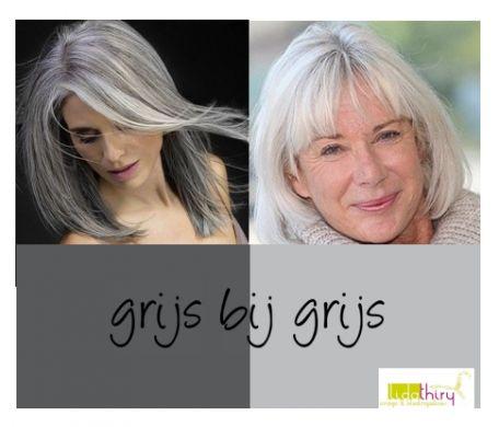 De beste kleuren bij grijs haar. Klik op de foto voor meer informatie