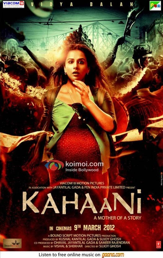 A pregnant lady and pacy thriller...are oxymorons in Bollywood. The exception being Kahaani