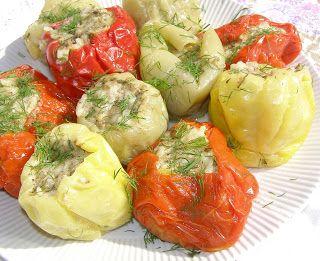W Mojej Kuchni Lubię.. : szybkowar-kolorowa papryka z ryżem i drobiem...