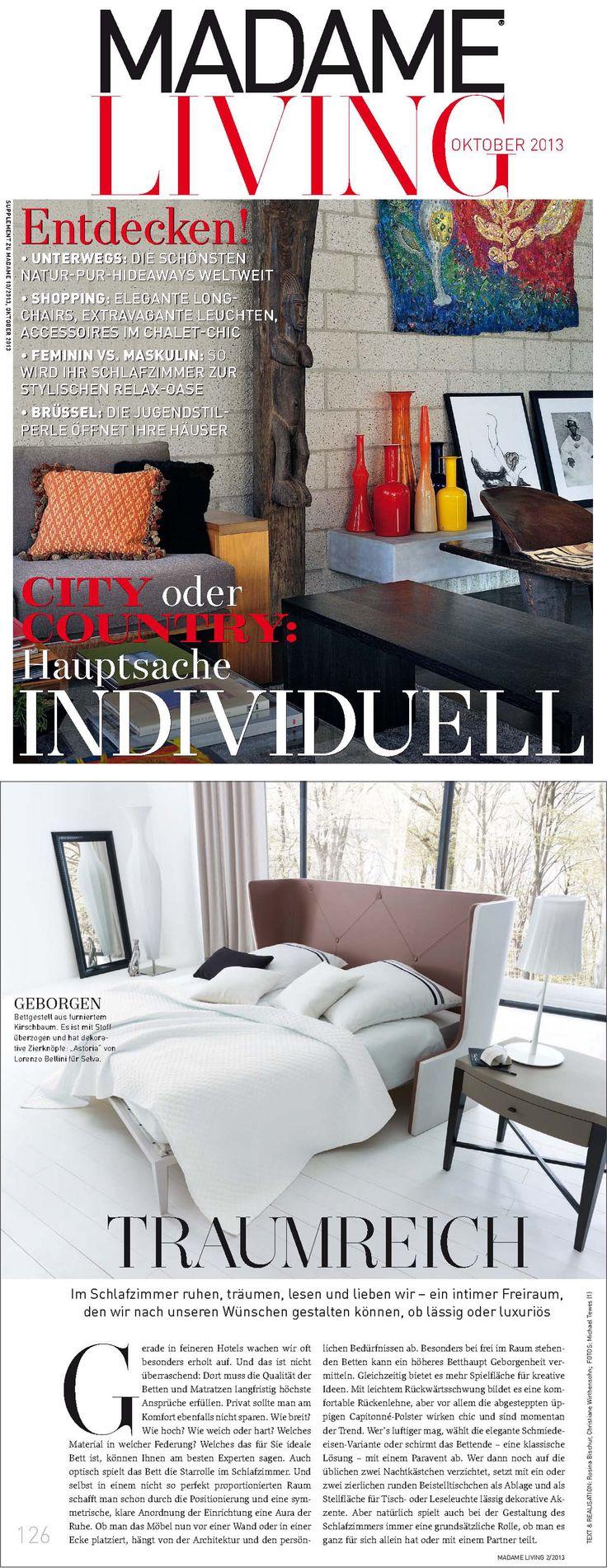 Madame Magazine, Germany - October 2013