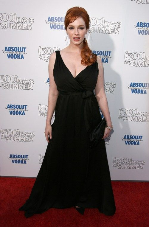Christina Hendricks in 2009