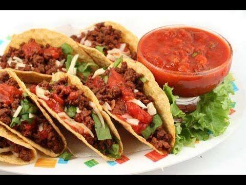 Receta de Tacos: Como preparar tacos de carne adobada