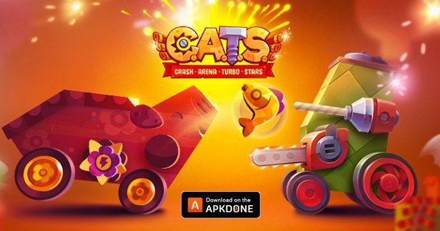 Cats Crash Arena Turbo Stars Mod Apk 2 24 1 God Mode For
