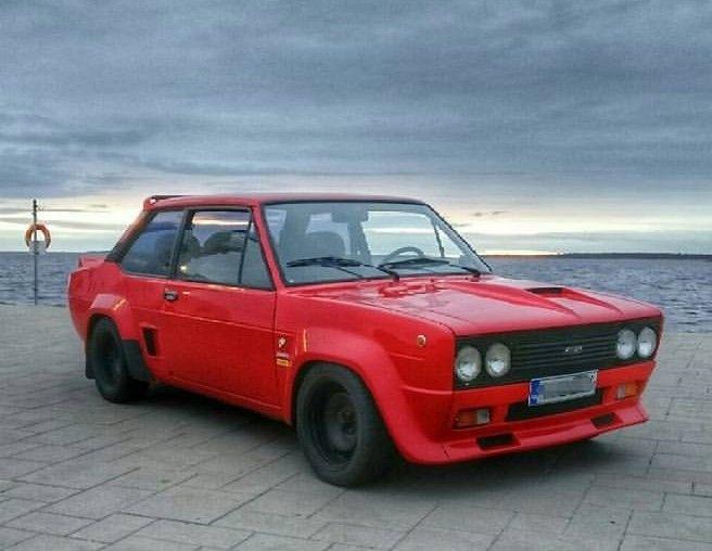 Fiat 131 Turbo Car Fiat Fiat Abarth