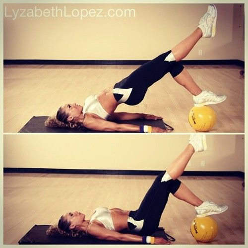 I love doing this exercise! My @hourglassworkout girls did about 4 LONG sets of them in yesterdays classes, and I know theyre feeling it today! Woot woot!! #buildthatbooty Happy training everyone xoxo #lyzabethlopez #personaltrainer #teamhourglass #hourglassworkout #glutes