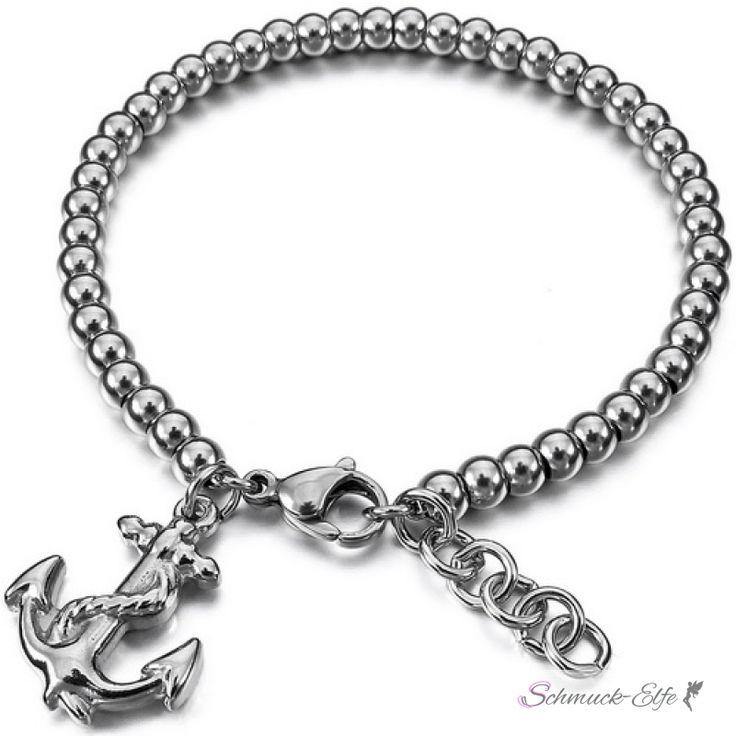 Armband Anker AHOI aus 316 L Edelstahl im Schmuck Etui, 99,99 €