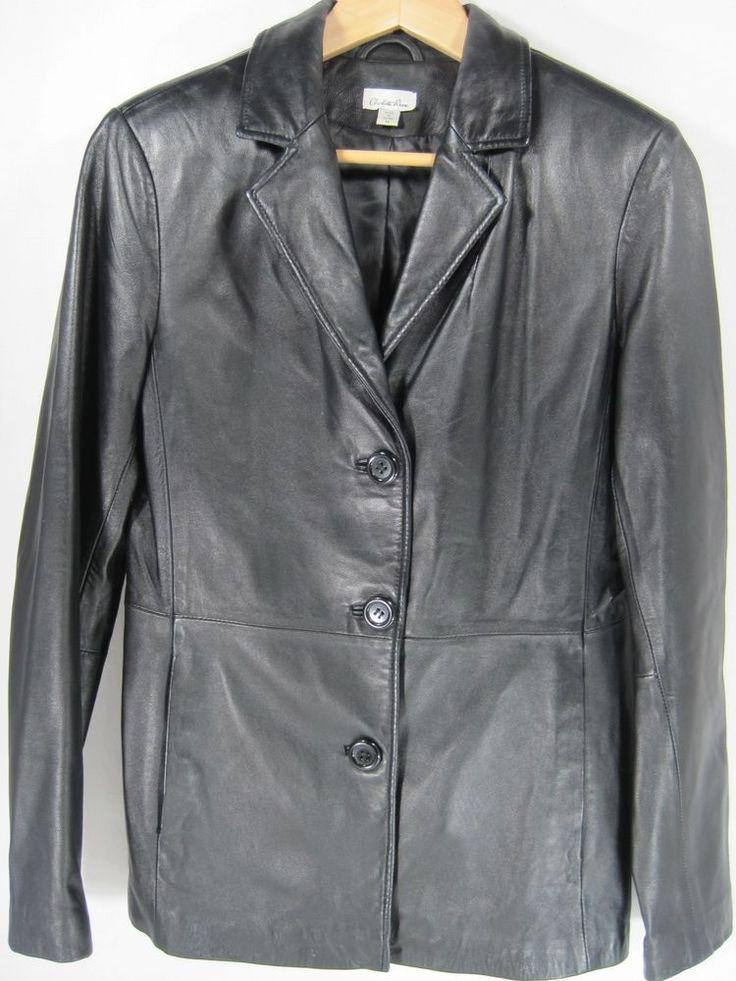 Charlotte Russe Women Leather Jacket Size M Black. #CharlotteRusse #BasicJacket