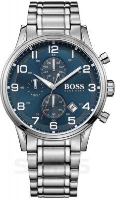 Męska klasyka. Zegarek męski #hugoboss #watch #silver #blue #butikiswiss #dlaniego