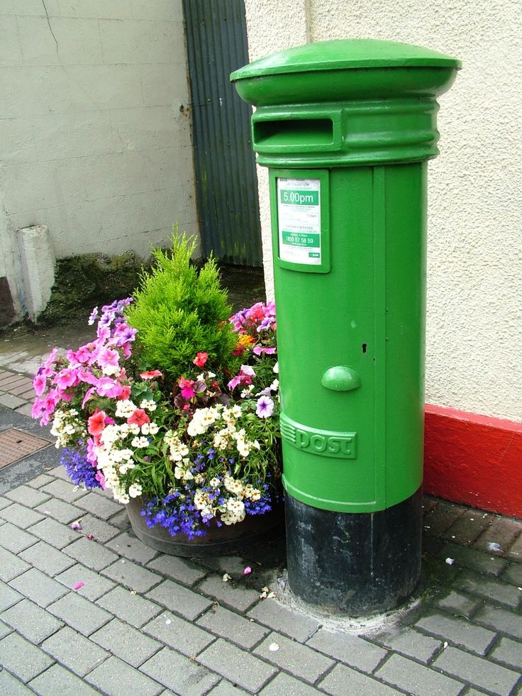 Post box in Mountrath, Co. Laois