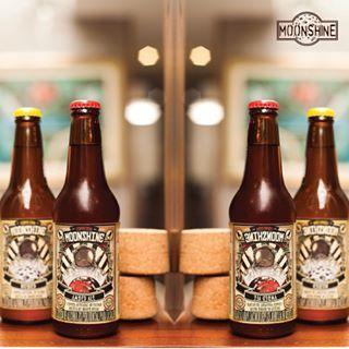 ¿Ya tienes tus Moonshine para este fin de semana? Pídelas a #domicilio al 3012425550 #piensaindependiente #tomaartesanal #cervezabogotana #cervezasmoonshine #cervezacolombiana #craftbeer #bogota