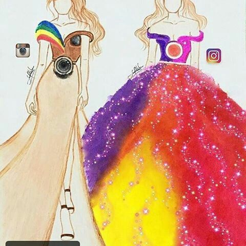 dress instagram OLD AND NEW!!