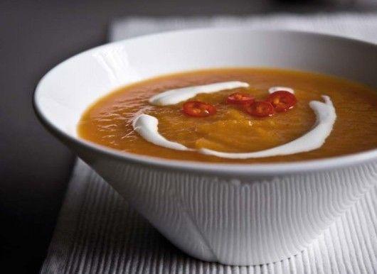 Morotssoppa med hetta | Mat & Vänner