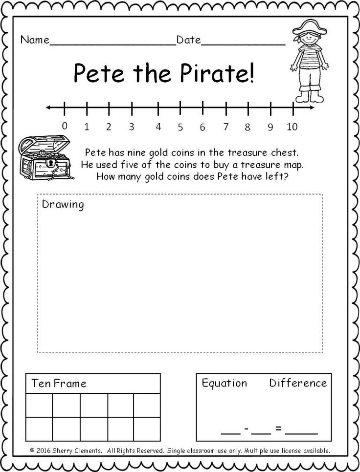 46543 best Math for Kindergarten images on Pinterest | Teaching ...