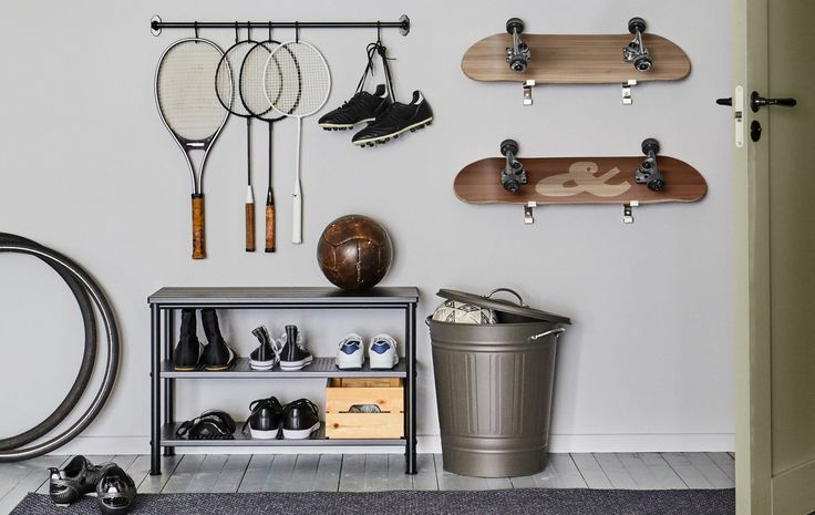 Best sports equipment storage ideas on pinterest mud