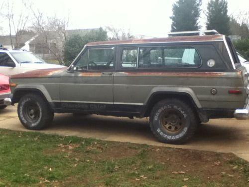 Jeep Wagoneers! | (via 78 cherokee chief part out: Greensboro, NC -...