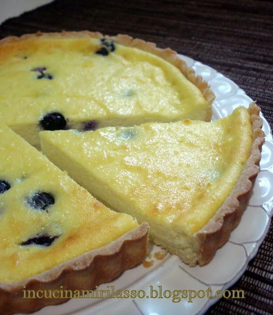 Cheesecake di ricotta al limone