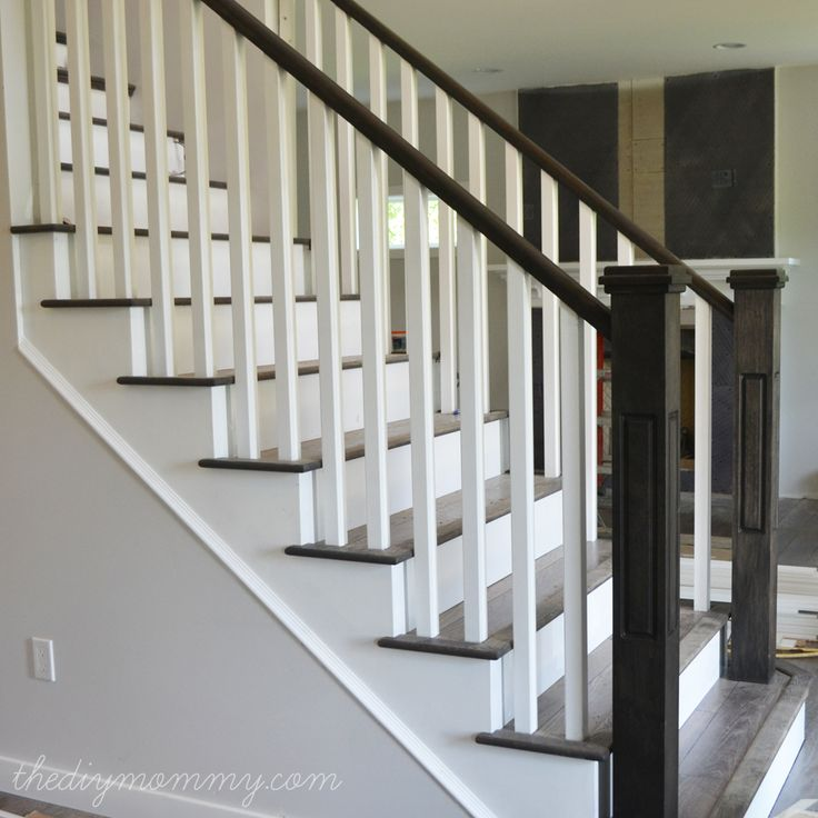 finishing stair railings more peeks our almost finished home outdoor calgary balusters alberta