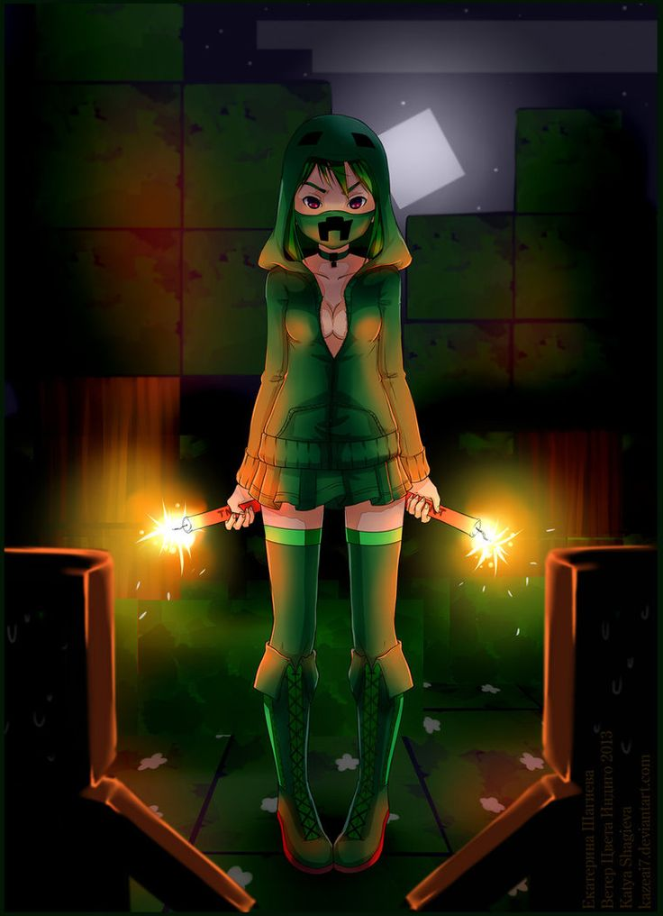 58 best minecraft anime images on pinterest minecraft - Creeper anime girl ...