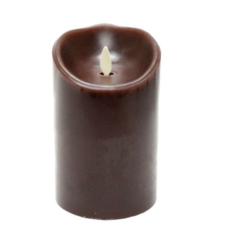 Luminara Moving Wick Flameless Vax Candle Timer Vanilla Scent-G Brown NEW #candle #vanilla #vax #flameless #deals #sales #ebay