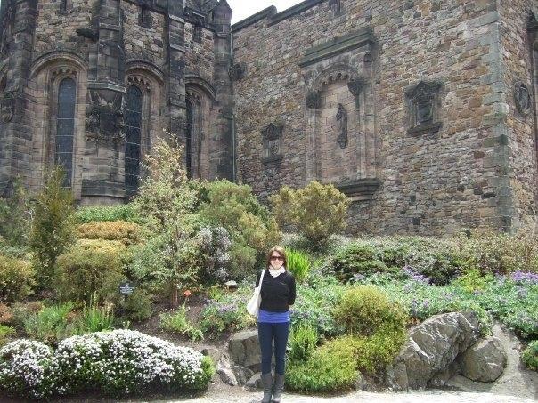 Touring Edinburgh Castle, Scotland