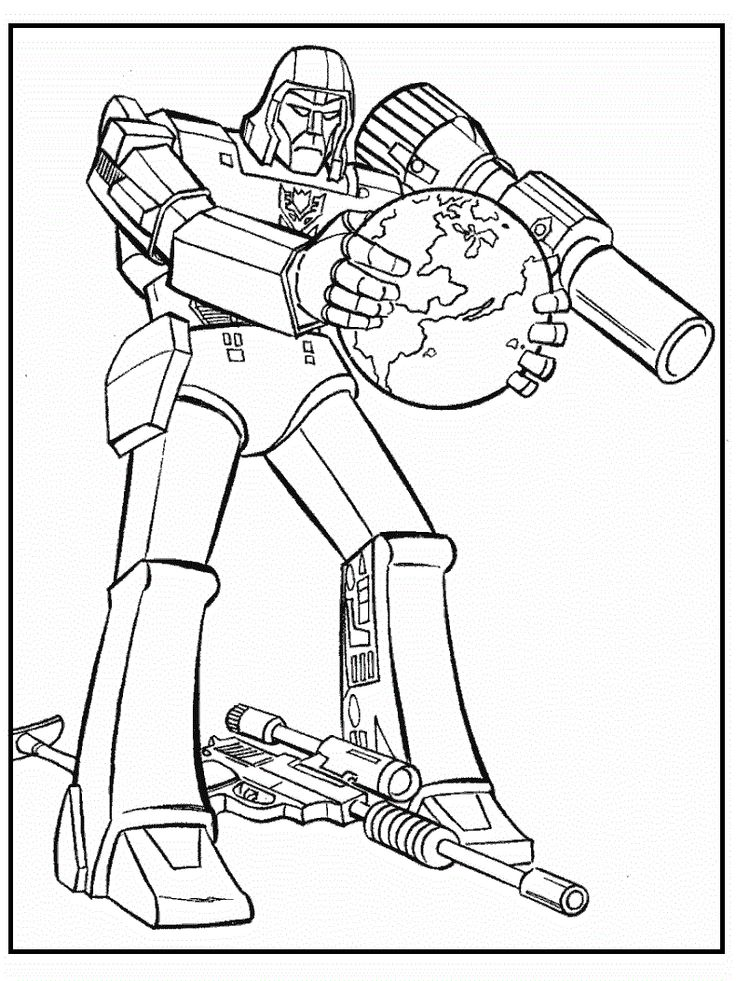20 best transformers images on pinterest coloring for Ironhide coloring pages