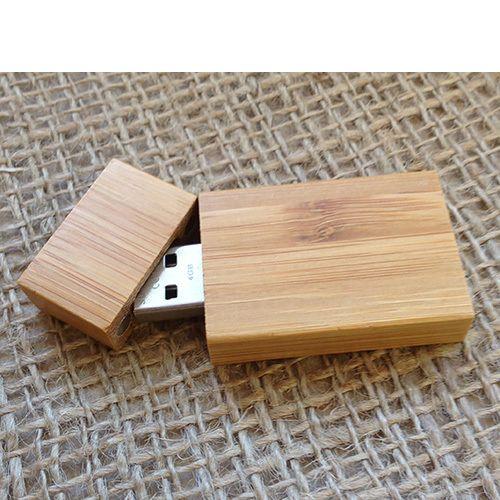 USB Bamboo Dark 1GB
