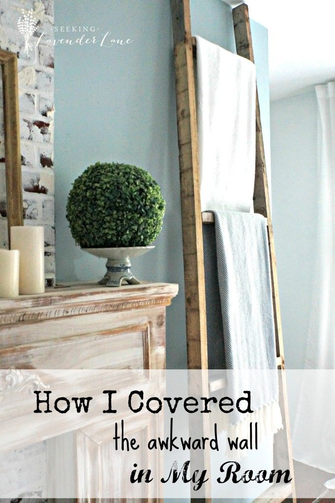 How I Covered the Awkward Wall in my Room