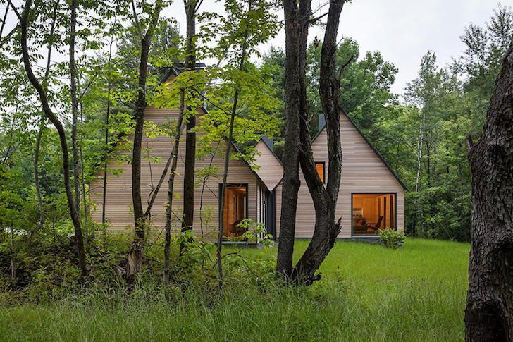 Modern Marlboro Cottages use natural and locally sourced mater...